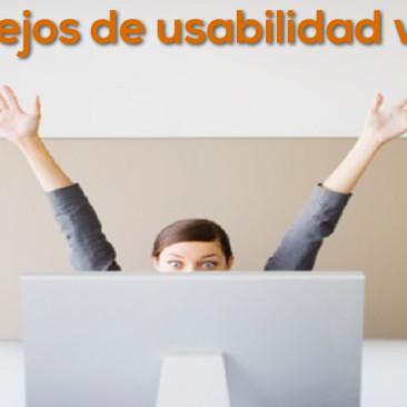 7 Consejos de usabilidad web